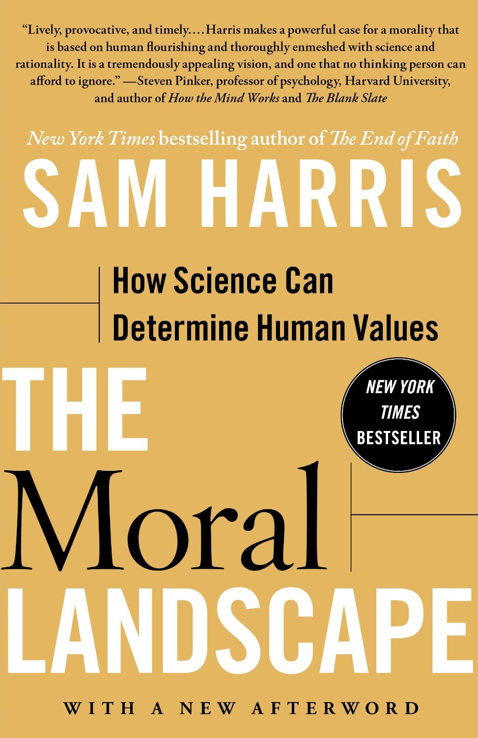 sam harris the end of faith essay Watch video questions of good and evil, right and wrong are commonly thought unanswerable by science but sam harris argues that science can -- and should -- be an authority on moral issues, shaping human values.