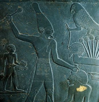 Narmer, first king of Egypt Image credit: Wikipedia