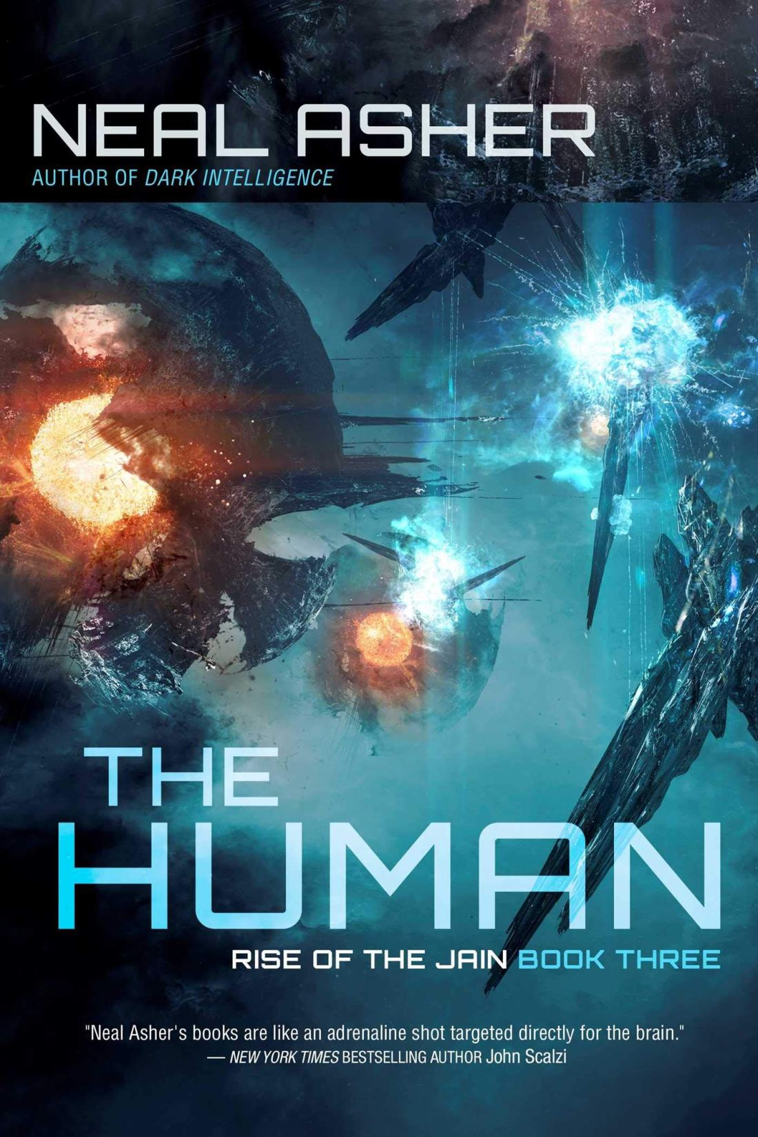 Cover for The Human